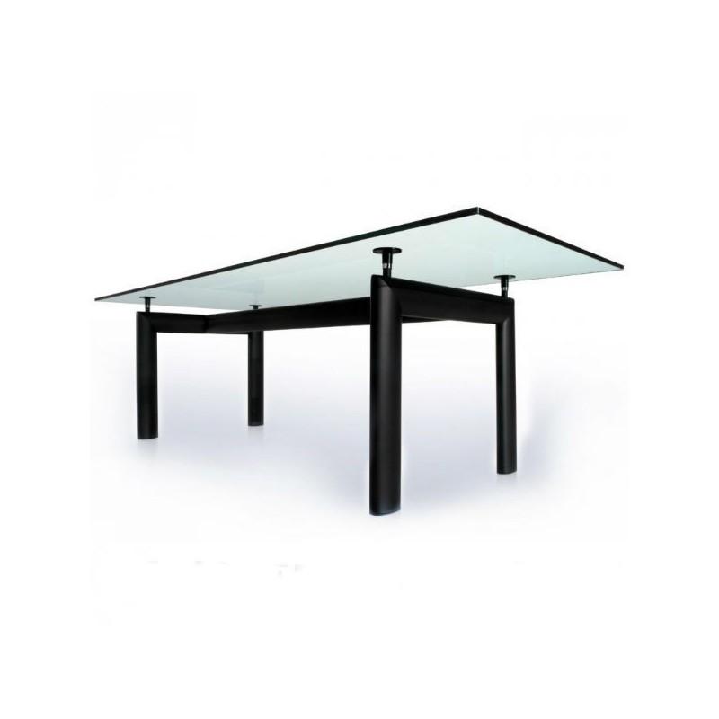 tavolo Le corbusier lc6 vetro