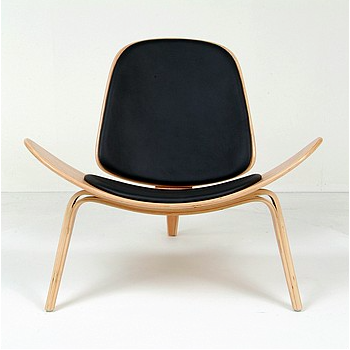 Sedia shell chair Wegner