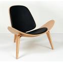 Chaise shell chair Wegner