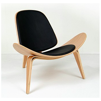 Chaise shell chair Wegner