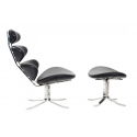 Corona chair & ottoman Poul...