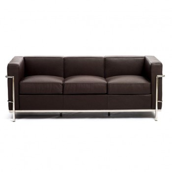 Sofa Le corbusier Lc2 three...