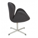 Swan chair Jacobs fabric