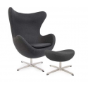 Jacobs Egg chair fabric and...