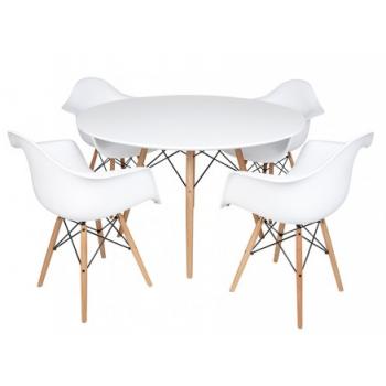 Eames Table et 4 chaises...