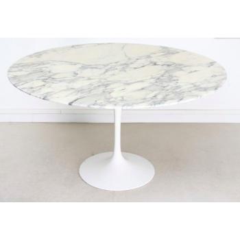 Table tulip marbre ronde...