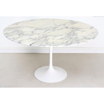Round marble table 120 cm