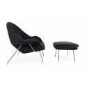 Saarinen Womb chair and...